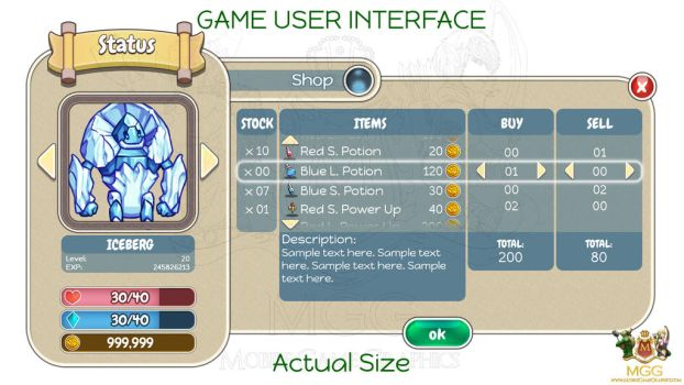 WHIMSY CREATURES - GUI Design by Resa11