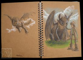 How to train your Sketchbook by AutumnPendullum