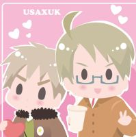 USAXUK: cute picture by kaguya-lamperouge