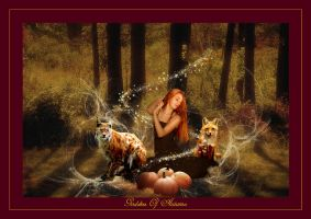 Goddess Of Autumn by eclipse79