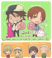 APH and TB - 2nd Anniversary by rukaxxx