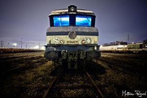 cimetiere des locomotives II by Makavelie
