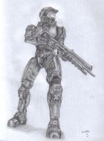 Master Chief by PetRockOddSock