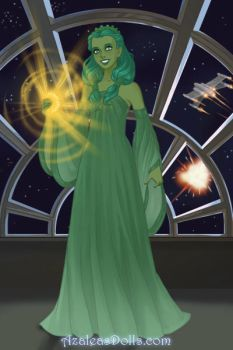 Statue of Liberty on Star Wars by LadyAquanine73551
