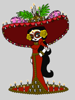 La Muerte, PSG style (updated) by Death-Driver-5000