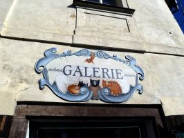 Gallery sign II by oggthing
