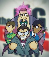 Big Bang Theory by MikeyPurple
