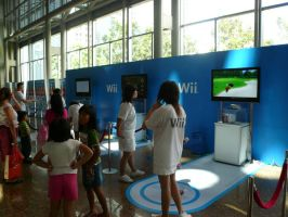 Wii booth at GCA by victortky