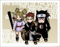 The Shinobi of the Sand by Kevin-L