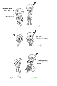 another billdip comic (i have ni idea for title) by mitsuhiku