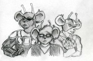 Biker Mice From Mars sketch by CandySkitty