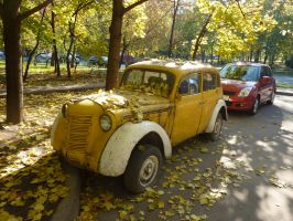 Moskvitch 401 1945-56 MZMA by Vogel12