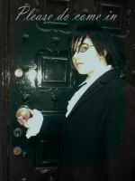 Kyoya 'please come in' edit by SephirothMichaelis