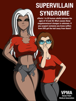 Super Villain Syndrome by DrasticAction