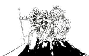 Teenage Mutant Ninja Turtles by EnigmaResolve
