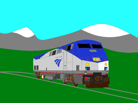 Amtrak GE P42DC by TheSniperKid