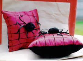 Smokin' Spidey Pillows by UrsulaPatch