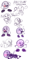 Phantissimo (Kirby Fan Character). by Miss-Lizzifer