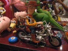 Woody's on motorcycles by drockNation