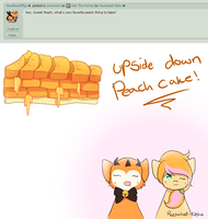q11 {Peach cake} by Rockabell-Neko