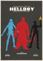 Hellboy Poster by countevil