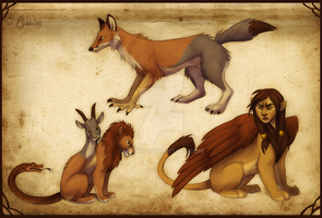Chimeras by Avanii