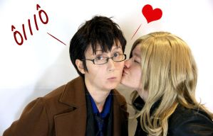 Doctor Who - Just kiss the Doctor by Sakiko-Seihikaru