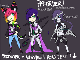 Adopt PRE-ORDERS. Sketch preview !! CLOSED ! by NotDamien