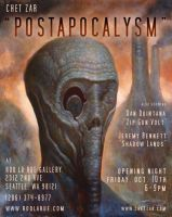"""Postapocalysm"" flyer by chetzar"