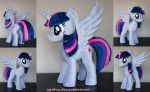 Alicorn Twilight Sparkle plush by agatrix