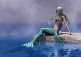 0237 Mermaid by LillithI