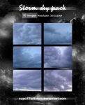 Storm sky pack by Supo77Art-Dsn