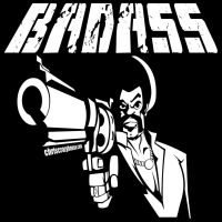 BAD ASS BLACK WHITE by chriscrazyhouse