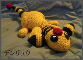 Ampharos Laying Down