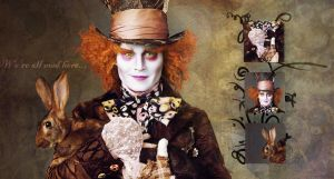 Mad Hatter Wallpaper by Nadine-PotC