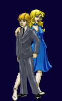 Cartoon Sapphire and Steel by Nemo-the-Everbeing