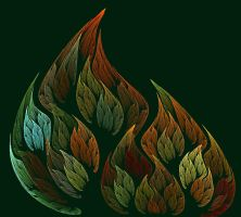 Autumn Leaves by GLO-HE