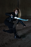 Clary in a fight by Marybellla