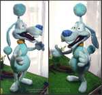 Plush figure -Shake dog by Piquipauparro
