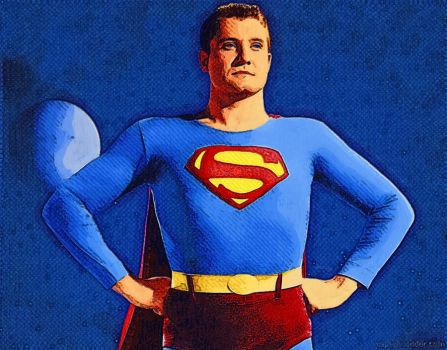 Superman-George Reeves by appelt65