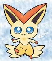 Day 28 - VICTINI - Cutest Pokemon by Jhordee