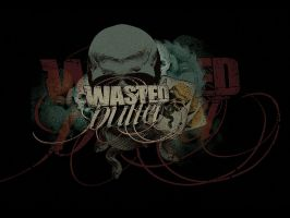 Wasted Bullet logo by ultradialectics