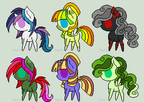 Pony Adopts(1#) by KoyMcFluffyPants