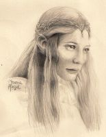 Galadriel by aruanahansel