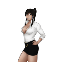 Request - Office Korra by Snowman1940