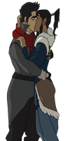 The Final Makorra Kiss by EmaNosha