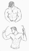 Muscle Practice by Lumoroske