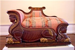 Royal lounger, couch - stock by paintresseye