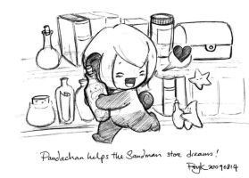 20090814 pandachan helps by PsychedelicMind