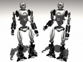 Another robot. by akdesignstudios